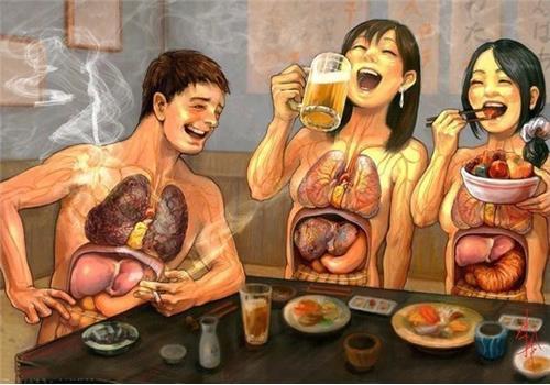 一次喝醉,身體九個器官都受罪!別再糟蹋自己的健康了,好嗎?