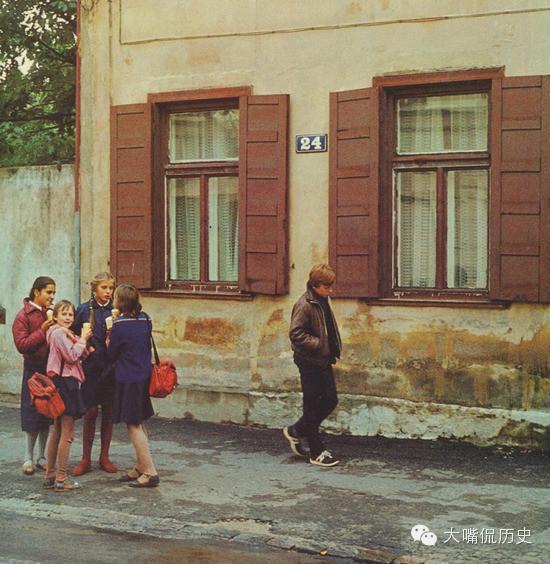 30多年前蘇聯加盟共和國拉脫維亞舊照