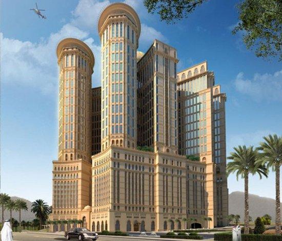 沙特阿拉伯耗資23億英鎊(一千多億台幣)建造世界最大酒店,