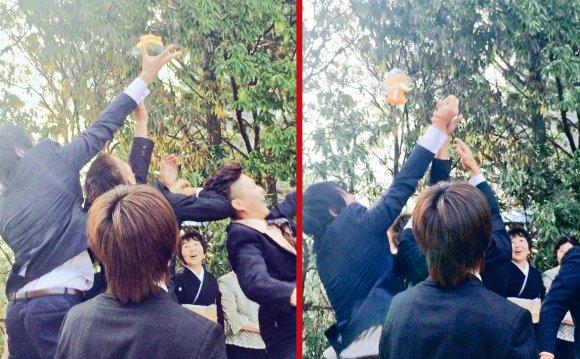 天哪!日本婚禮上竟開始流行拋西蘭花