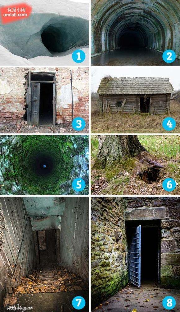 【心理測試】這8個神秘入口,你最害怕哪一個?