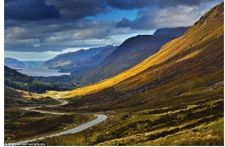 世上6大最美沿海線路之一環蘇格蘭高地公路