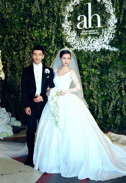 黃曉明和Angelababy壕气、梦幻又虐人的童话故事婚禮!