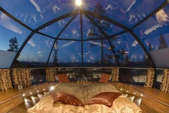 睡遍全球:最美9大露天臥室酒店