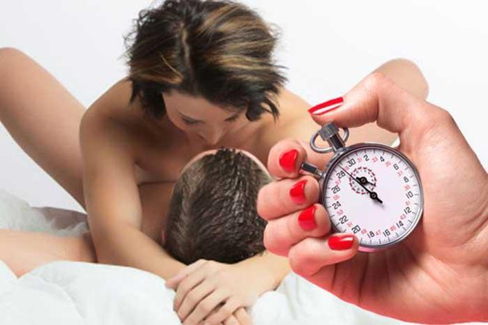 研究發現「男生進行愛愛行為33秒就繳械」很正常!因為男生平均持續時間只有..