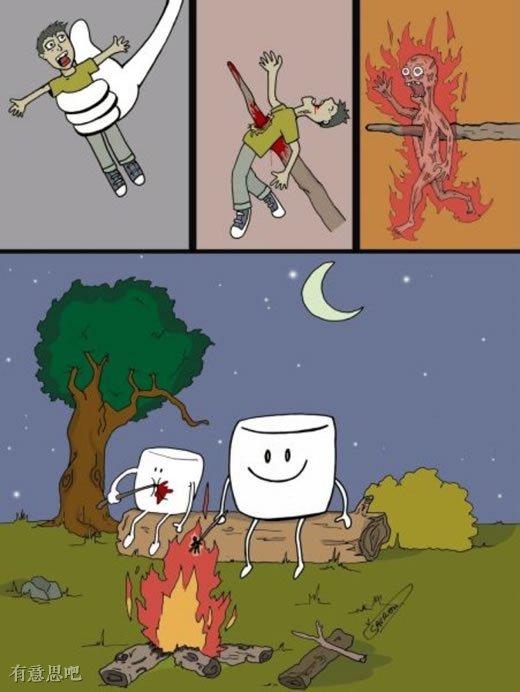 當世界被顛倒,人類你受到的只是你自己施加他人身上的!